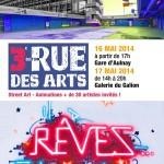 Affiche rue des arts 2014