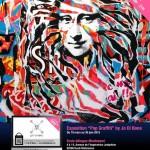 Affiche exposition pop graffiti école Montessori mars juin 2015