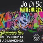 Performance live Paris Dauphine mai 2015