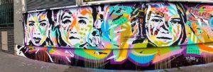 Mur rue Alibert Paris by Jo Di Bona